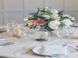 picture of summer wedding table decor ideas simple table
