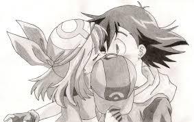 advanceshipping kiss sketch by chaos umbreon on deviantart