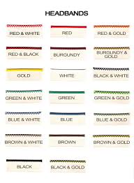 book headband headband color chart