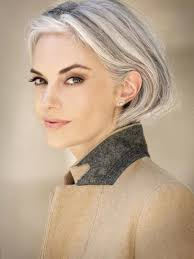 looking with grey hair fabulous silver and brown hair looks amazing ageless beauty