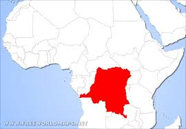 where is the republic on the world map where is democratic republic of the congo located on the world map