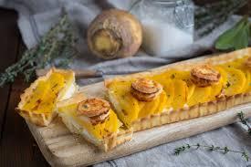 cuisiner rutabaga tarte au rutabaga chèvre et miel cuisine addict cuisine