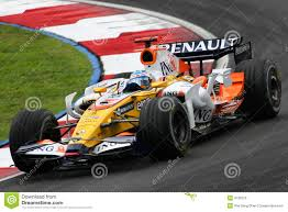 renault f1 fernando alonso ing renault f1 team editorial photo image 4795516