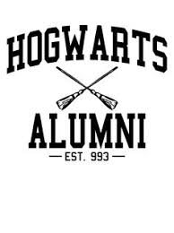 hogwarts alumni decal harry potter inspired quidditch decal vinyl by goodmommyltd