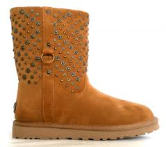 ugg eliott sale ugg boots model w eliott 1003184 w chestnut with studs