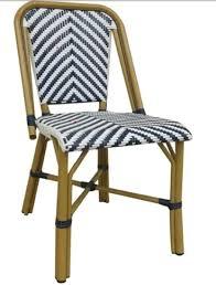 Navy Bistro Chairs Bistro Chairs Rattan Aluminum