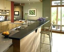 Kitchen Island Bar Ideas Kitchen Bar Menu View In Gallery Contemporary Wooden Design