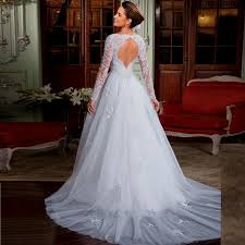 simple open back wedding dresses vestido de noiva wedding dress open back lace simple