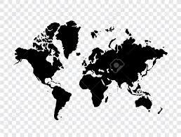 Flat Map Of The World Flat World Map Clip Art U2013 Clipart Free Download
