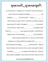 baby mad libs baby shower mad libs pregnancy journey free printable divide