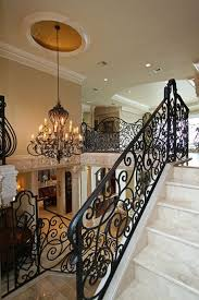 Iron Handrails For Stairs Stairs Extraordinary Rod Iron Railings Awesome Rod Iron Railings