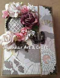 handmade photo albums onkar craft handmade mini album class in pune