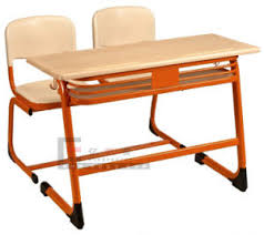 Wooden Student Desk China Popular India Wooden Furniture Double Student