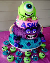 monsters monsters university cake cake u0026 cookie art