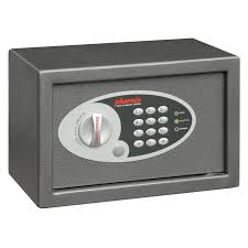 coffre fort bureau coffre fort vela serrure électronique 10 l ss0801e petit