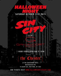 Halloween At Gansevoort Meatpacking Sin City At The Chester