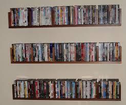 custom dvd cd wall shelf unit dutch haus custom furniture dvd