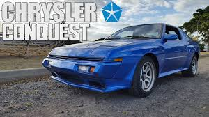 chrysler conquest hawaii cars 1989 chrysler conquest youtube