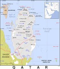 Doha Map Qa Qatar Public Domain Maps By Pat The Free Open Source
