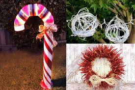 Unique Outdoor Christmas Decorations How To Make Unique Outdoor Christmas Decorations Ehow