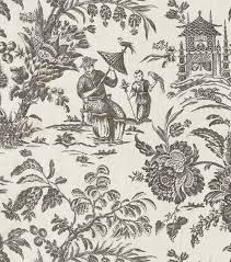 arcadia floral and home decor home decor print fabric williamsburg asian arcadia black orchid joann