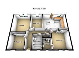 3 bed bungalow for sale in castlegait development glamis nr