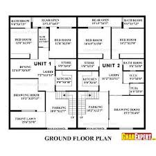 Architectural Plans House Plan For 60 Feet By 50 Feet Plot Plot Size 333 Square Yards
