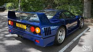 blue f40 blue f40 with tubi exhaust onboard ride and drive bys