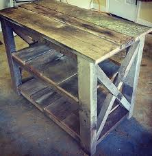 Kitchen Island Made From Reclaimed Wood Best 25 Distressed Kitchen Ideas On Pinterest Distressed