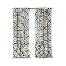 Gold And Teal Curtains Threshold Metallic Curtain Panel Gold Linen 20 Liked On
