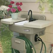 Garden Sink Ideas Outdoor Garden Sink Work Station Outdoor Sinks Sinks And Gardens