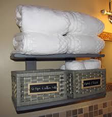 White Shelves For Bathroom - ana white bathroom shelf diy projects