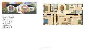 starter home floor plans modular home ranch plan 263 2 jpg