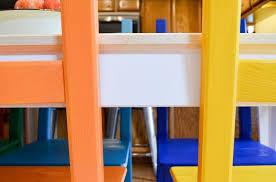 kitchen set furniture rainbow painted kitchen set hometalk