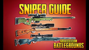 pubg gun stats playerunknown s battlegrounds sniper guide pubg gun guide