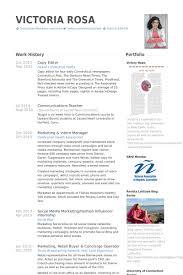 copy editor resume samples visualcv resume samples database