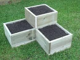 planters raised garden planter design boxes ideas cart box diy