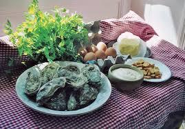 cuisine normande omelette aux huîtres d après une recette de 1771