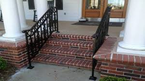 Exterior Stair Railing by Railings Joseph Adams Designs 843 816 0451