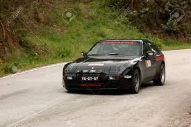 porsche 944 rally car leiria portugal april 20 rui viana drives a porsche 944 during