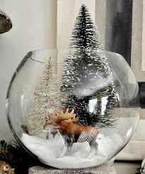 fanus süsleme örnekleri bottle brush trees ornament and bowls