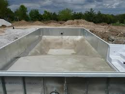 Pictures Of Inground Pools by Vinyl Liner Pool Construction U0026 Installation Process Penguin Pools