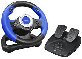 joystick volante volante pedalera pc eurocase gamestore un mundo en juegos