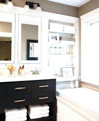 Open Shelf Bathroom Vanity Fascinating Open Shelf Bathroom Vanity Open Bathroom In Gallery