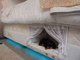 love mattress this mattress has a built in bed for pets because fur baby love is