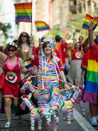 Chelsea Parade Chelsea Manning Joins Revelers For New York Pride Parade Daily