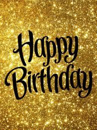golden happy birthday card birthday u0026 greeting cards by davia