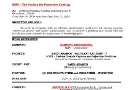 Inspector Resume Sample by Resume Of Qa Qc Electrical Inspector Reentrycorps