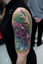 flower butterfly by piranha studio