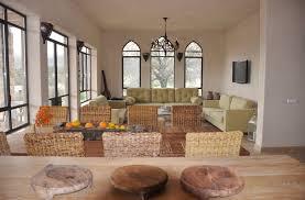 open space living room design bet keshet israel sidon amir